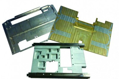 Figure 10.  Typical HiK™ Plates with embedded heat pipes to improve the effective thermal conductivity.