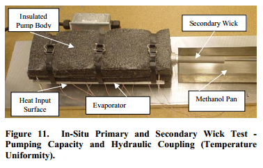 In-Situ Primary and Secondary Wick Test