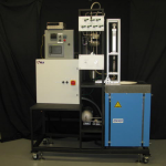 Figure 1: Pressure controlled heat pipe calibrating furnace and controls