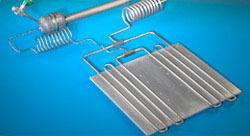 ACT Titanium/Water Loop Heat Pipe for military Aircraft