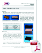 Vapor Chamber Heat Pipes