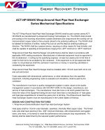 ACT Wrap-Around Heat Pipe HX Engineering Spec (PDF)