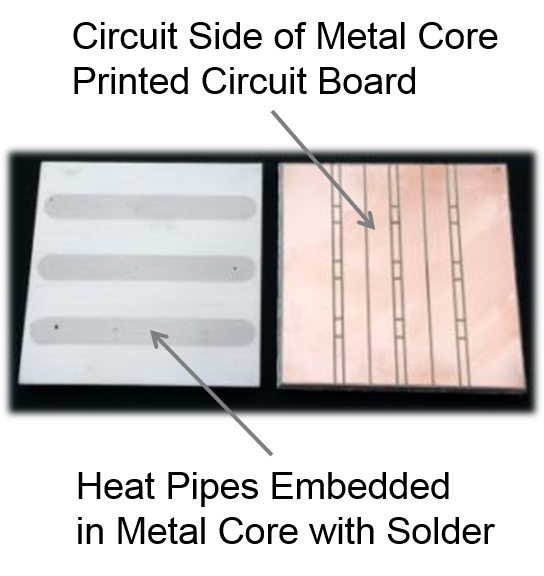 heat pipe printed circuit board, led heat pipes, metal core printed circuit boards