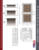 Air-to-Air Heat Pipe Heat Exchanger Engineering Dimensions