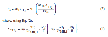 hydrogen equation