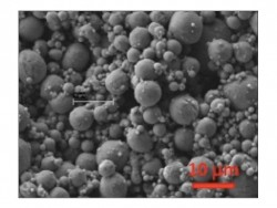 Figure 10. SEM image of the microporous coating shown in Figure 9.