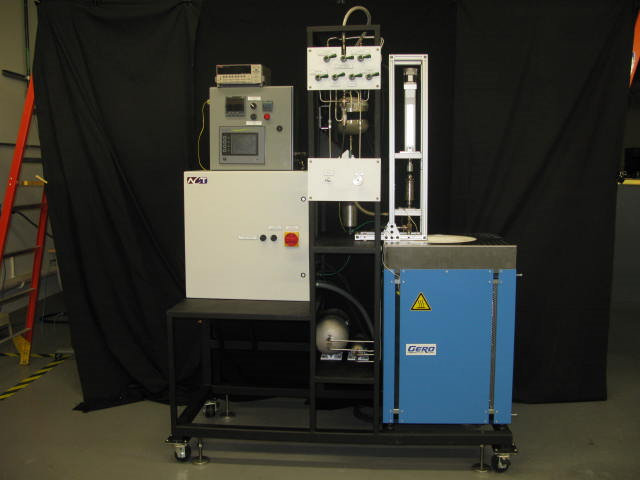 Pressure Controlled Heat Pipe (PCHP) Temperature Calibrating Furnace and Controls
