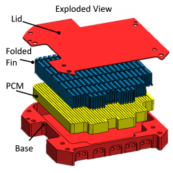 PCM Heat Sink Schematic