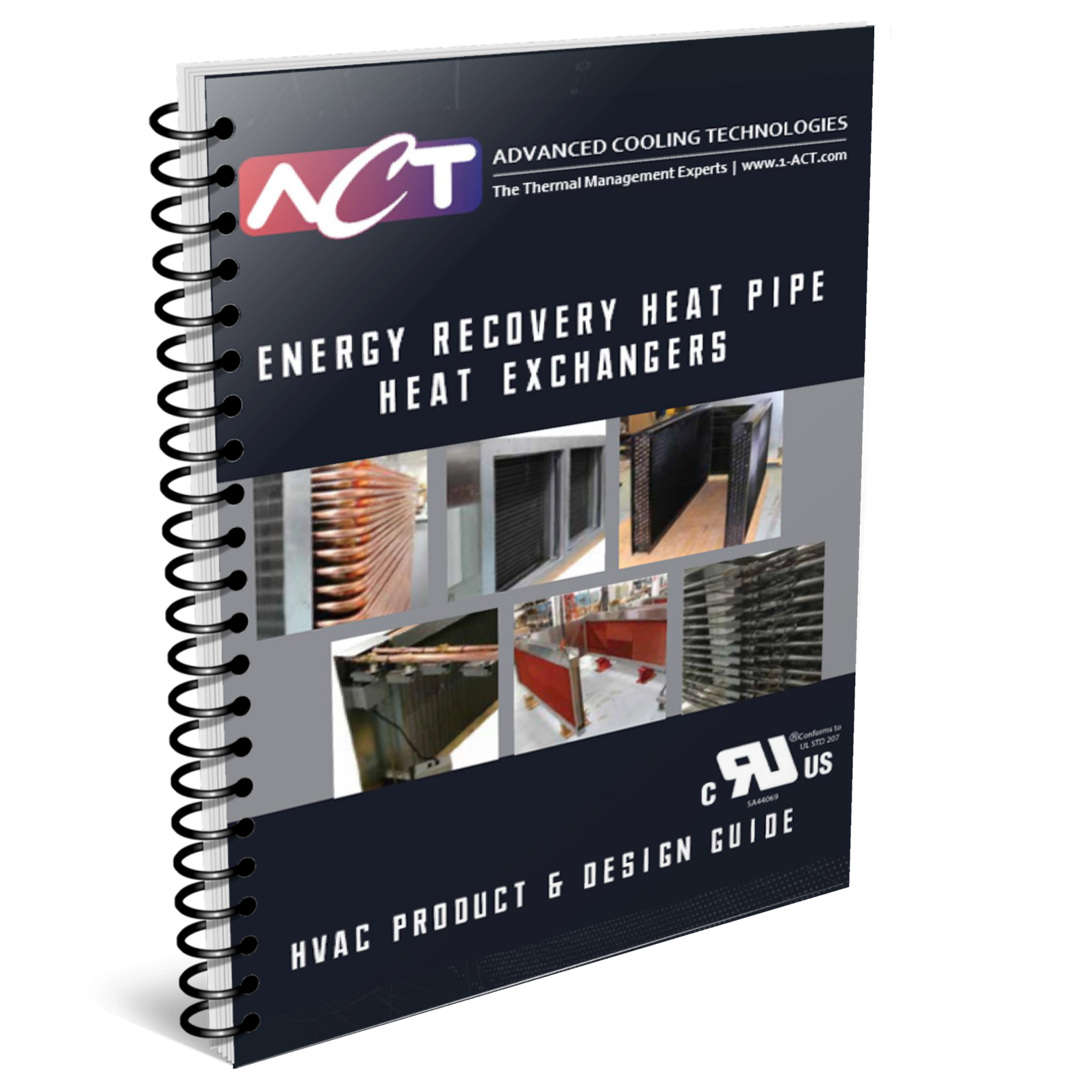 Energy Recovery Heat Pipe Heat Exchangers Brochure (HVAC)