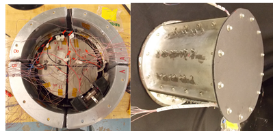 Figure 2: Small-scale ocean thermal energy harvesting prototype for on-board power generation