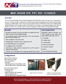 Wrap-Around Heat Pipe Heat Exchanger Brochure