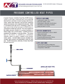 Pressured Controlled Heat Pipes (PCHPs)