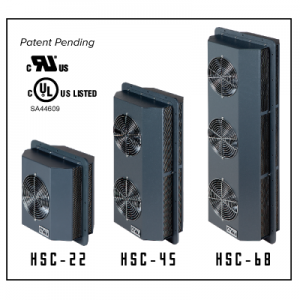 ACT-HSC Enclosure Coolers-Heat Sink Coolers