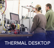 Cutting edge design tools; Thermal Desktop
