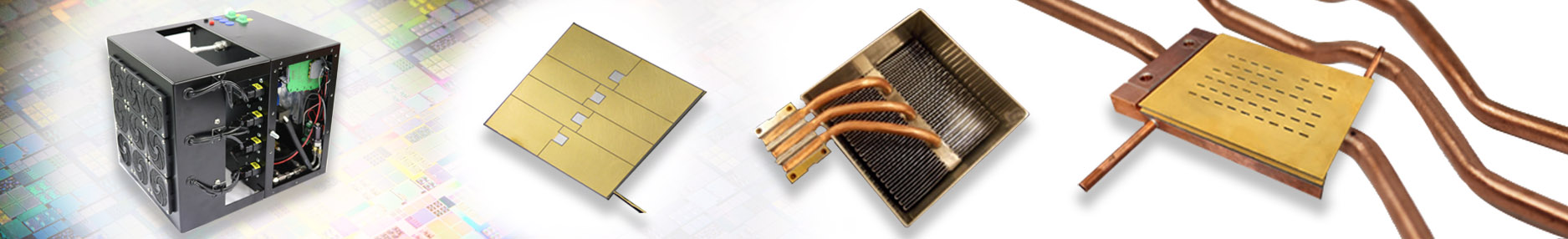 Thermal management solutions for the photonics industry, ACT creates custom solutions