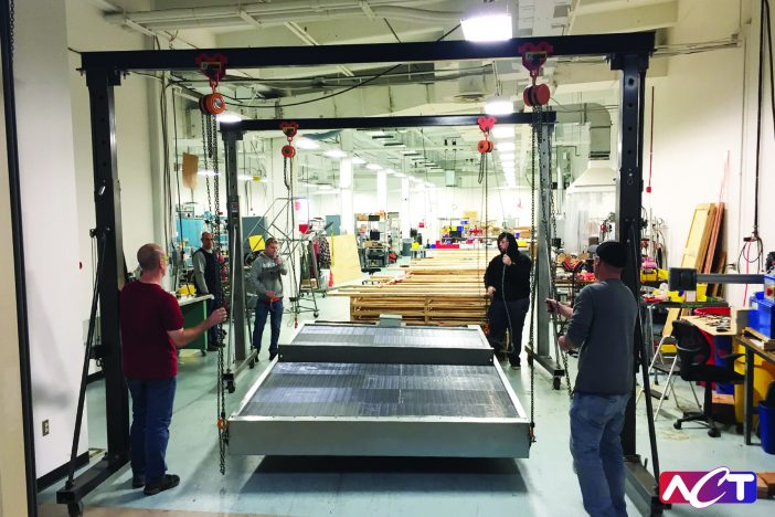 ACT Industrial Products Group prepares to deliver large energy recovery HVAC systems