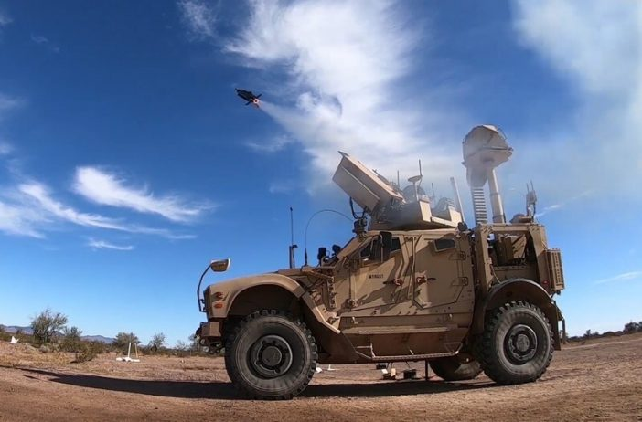 The Coyote® Block 2 counter-drone weapon and KuRFS radar